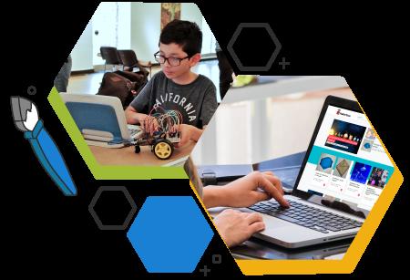 Makerteca, Plaforma educativa STEAM en línea.