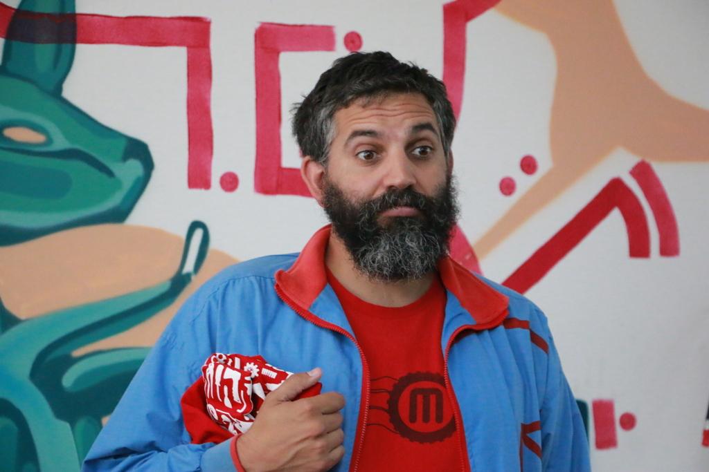 David Cuartielles, cofundador de Arduino.